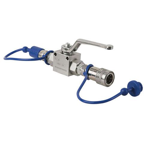 Accesor. efecto escenario Showtec CO2 Q-Lock Shut-off valve