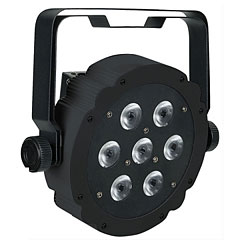 Showtec Compact Par 7 Tri Black Edition « LED-verlichting