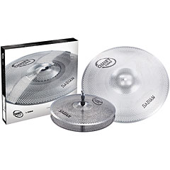 Sabian Quiet Tone 13/18 Low Volume Practice Cymbal Set « Becken-Set
