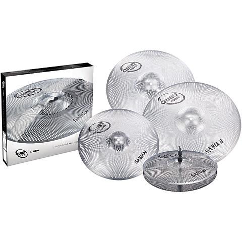 Becken-Set Sabian Quiet Tone 14/16/18/20 Low Volume Practice Cymbal Set