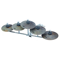 Sabian Tollspire Chimes Set With Bar 5-Pcs. « Pack de cymbales