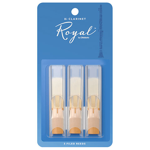Blätter D'Addario Royal Bb-Clarinet 1,5 3-Pack