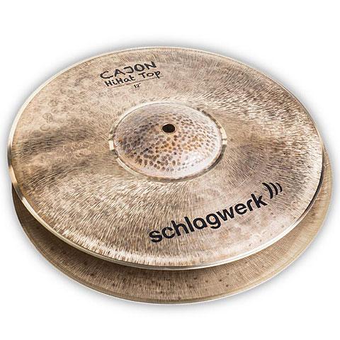 "Hi-Hat-Becken Schlagwerk CHH12 Cajon HiHat 12"""