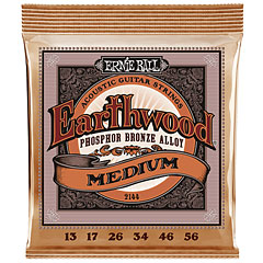 Ernie Ball Earthwood Medium Phosphor Bronze 2144 .013-056 « Corde guitare folk