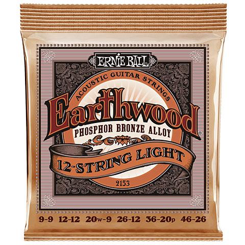 Ernie Ball Earthwood EB2153 .009-046 12-String Phosphor Bronz