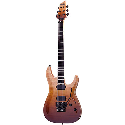 Schecter SLS Elite C-1 FR, Antique Fade Burst « Electric Guitar