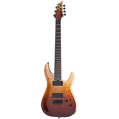 Schecter SLS Elite C-7, Antique Fade Burst « E-Gitarre
