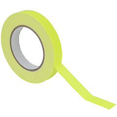 Eurolite Gaffa Tape 19 mm neon-yellow uv active « Kleefband