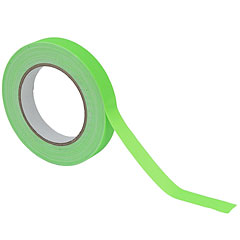 Eurolite Gaffa Tape 19 mm neon-green uv active « Gaffeur