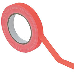Eurolite Gaffa Tape 19 mm neon-orange uv active « Klebeband