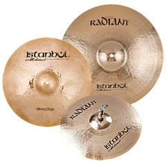 Istanbul Mehmet Radiant Rock Cymbal Set « Pack de cymbales