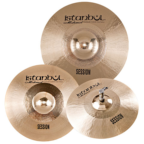 Pack de cymbales Istanbul Mehmet Session Cymbal Set
