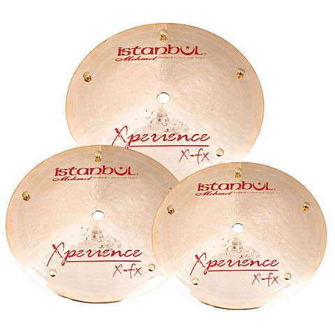 Pack de cymbales Istanbul Mehmet Experience 7/8/9 Flat Bell Set
