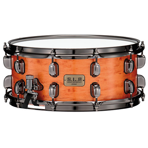 """Tama S.L.P. G-Maple 14"""" x 6"""" Figured Maple Outer Ply"""