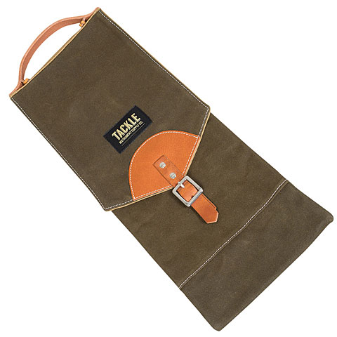 Funda para baquetas Tackle Waxed Canvas Compact Stick Case