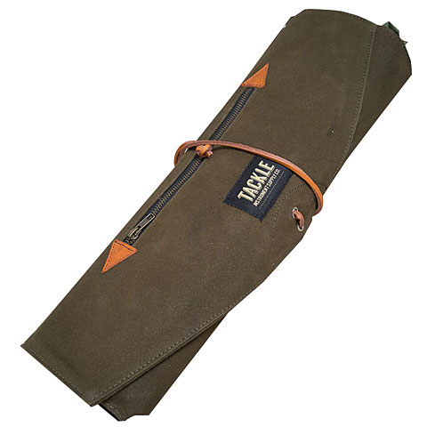 Stickbag Tackle Waxed Canvas Roll Up Stick Case