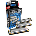 Hohner Big River Harp MS C/G/A Pro Pack « Richter Harmonica