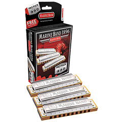 Hohner Marine Band Classic C/G/A Pro Pack « Richter-harmonica