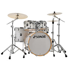 """Sonor AQ2 22"""" White Pearl Stage Drumset « Drumstel"""
