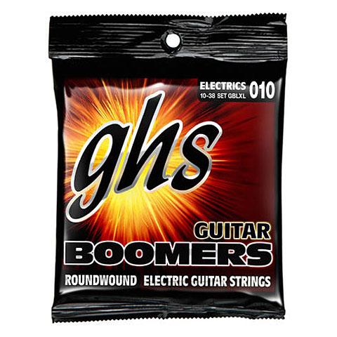 Cuerdas guitarra eléctr. GHS Boomers 010-038 GBLXL