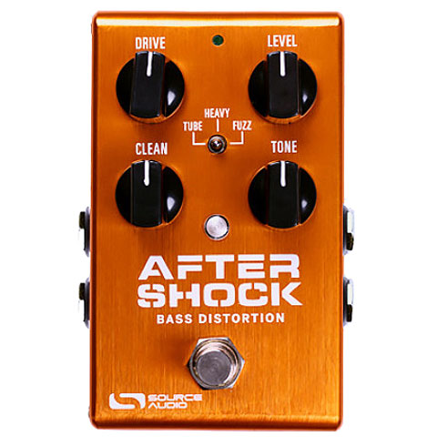 Bass Guitar Effect Source Audio AfterShock Bass Distortion