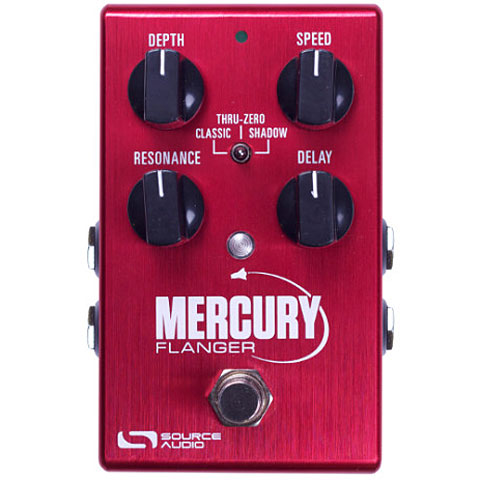 Pedal guitarra eléctrica Source Audio Mercury Flanger