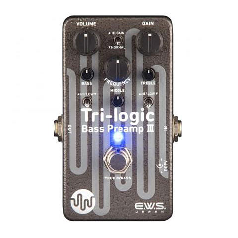 Xotic Tri Logic Bass Preamp 3