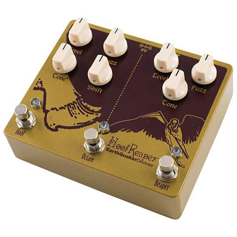 Pedal guitarra eléctrica EarthQuaker Devices Hoof Reaper V2