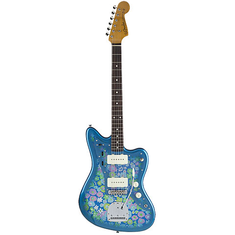 Fender Japan Traditional 60s Jazzmaster BL FLWR « Guitarra eléctrica