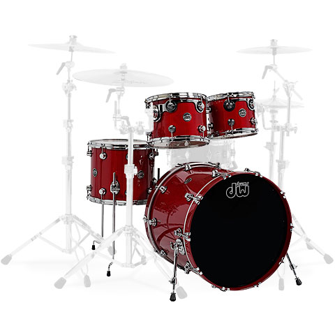"Schlagzeug DW Performance 20"" Lacquer Candy Apple Red"