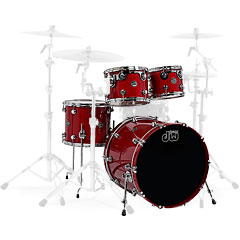 "DW Performance 20"" Lacquer Candy Apple Red « Drum Kit"