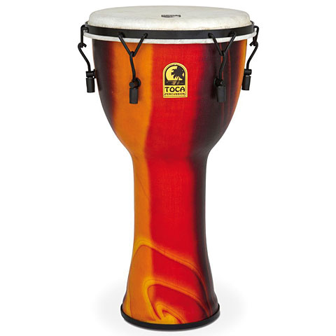 "Toca Percussion Freestyle Mechanically Tuned Djembe 12"" Fiesta"