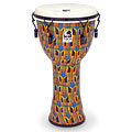 "Djembe Toca Percussion Freestyle Mechanically Tuned Djembe 12"" Kente Cloth"