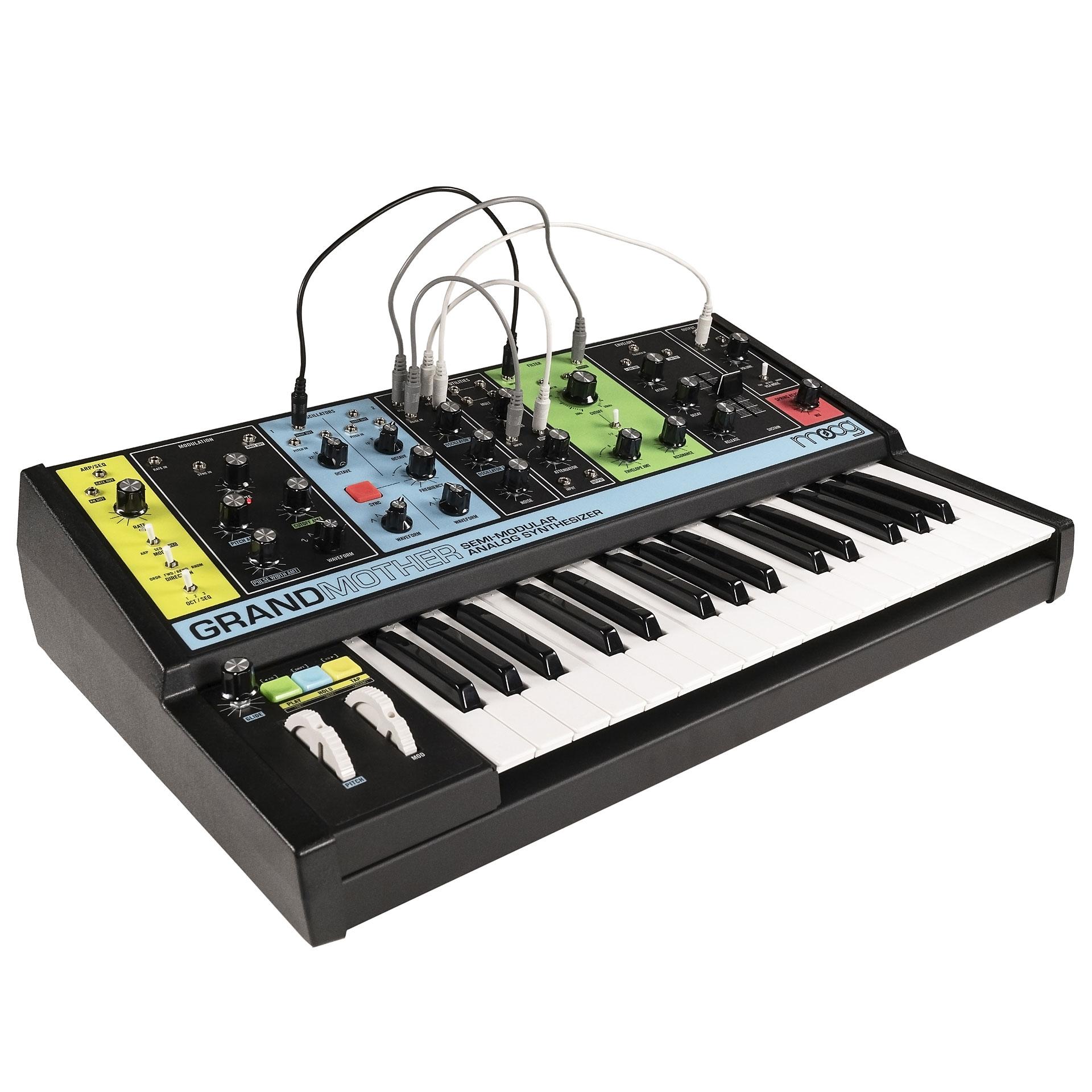 moog grandmother synthesizer musik produktiv. Black Bedroom Furniture Sets. Home Design Ideas