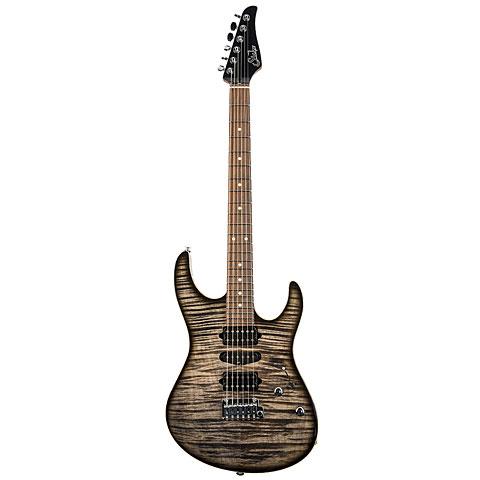 Suhr Modern Plus HSH, Trans Charcoal Burst « E-Gitarre