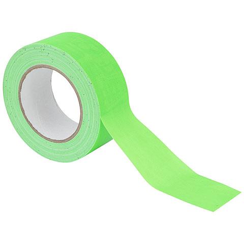 Klebeband Eurolite Gaffa Tape 50 mm neon-green uv active