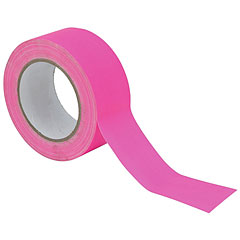 Eurolite Gaffa Tape 50 mm neon-pink uv active « Adhesive Tape