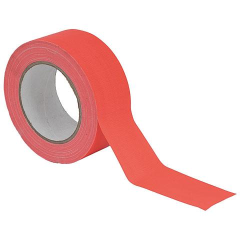 Eurolite Gaffa Tape 50 mm neon-orange uv active