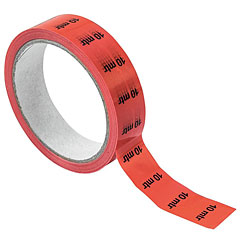 Eurolite Cable Marking 10m red « Adhesive Tape