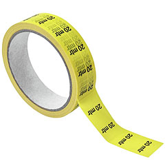 Eurolite Cable Marking 20 m yellow « Adhesive Tape