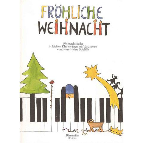 Libro de partituras Bärenreiter Fröhliche Weihnacht