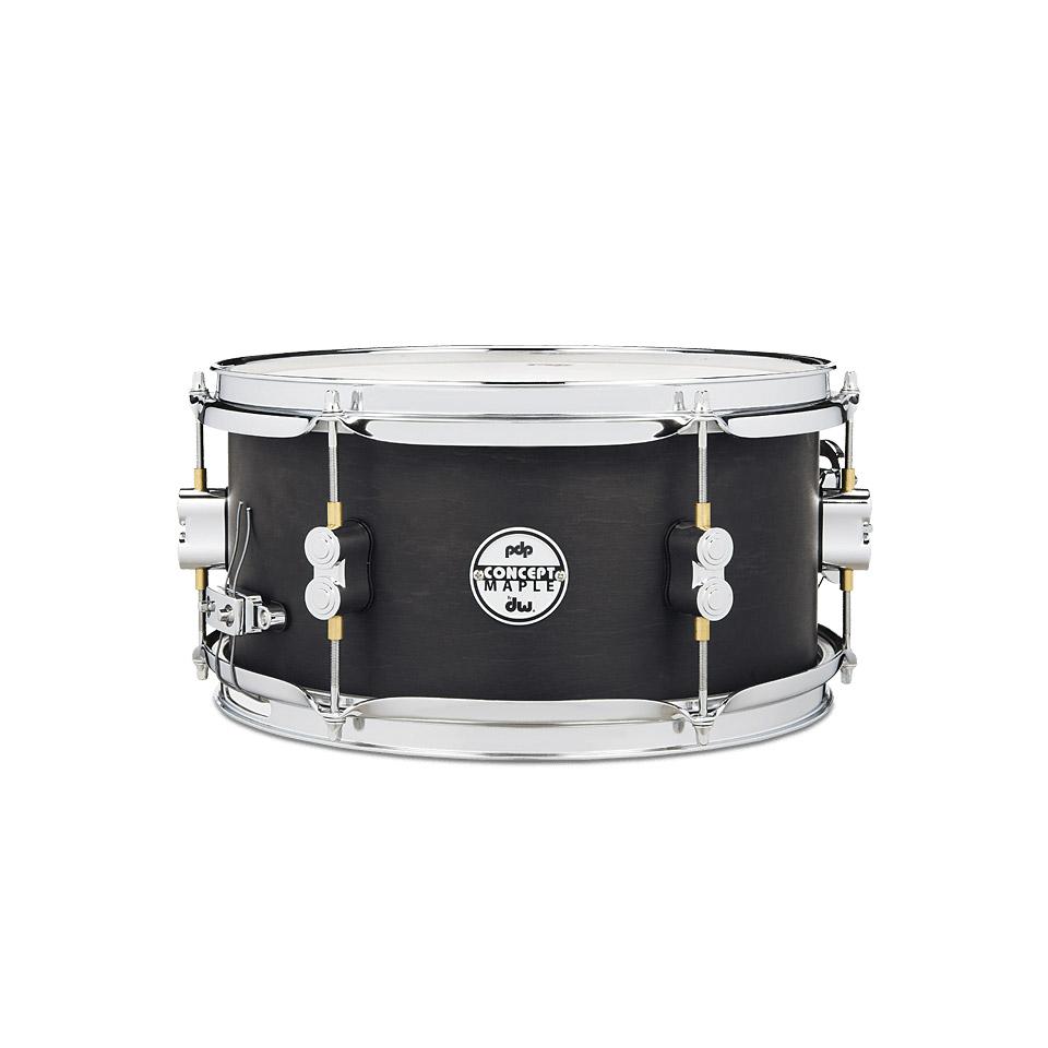 pdp black wax 12 x 6 snare drum snare drum. Black Bedroom Furniture Sets. Home Design Ideas