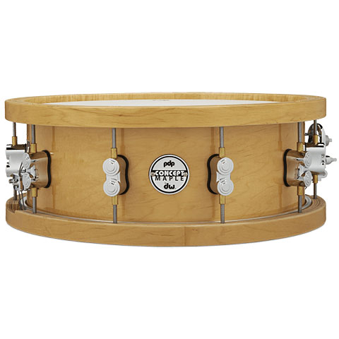"pdp Concept Maple 14"" x 5,5"" Natural Wood Hoop Snare"