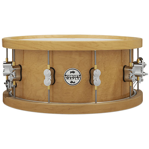 Caja pdp Concept Maple 14'' x 6,5'' Natural Wood Hoop Snare