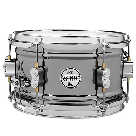 "pdp Concept 10"" x 6"" Black Nickel over Steel Snare"