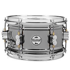 "pdp Concept 10"" x 6"" Black Nickel over Steel Snare « Малый барабан"