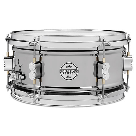 "Snare pdp Concept 12"" x 6"" Black Nickel over Steel Snare"