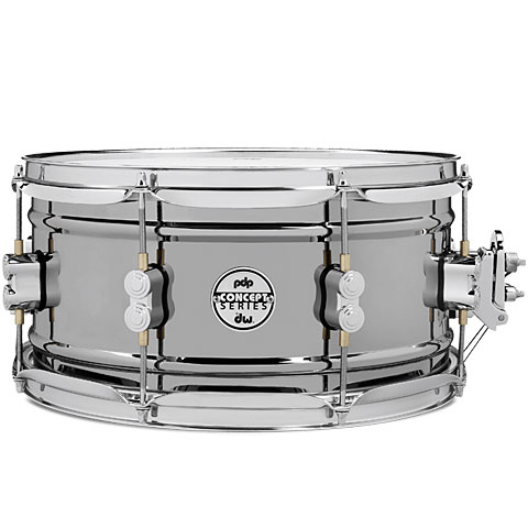 "pdp Concept 13"" x 6,5"" Black Nickel over Steel Snare"