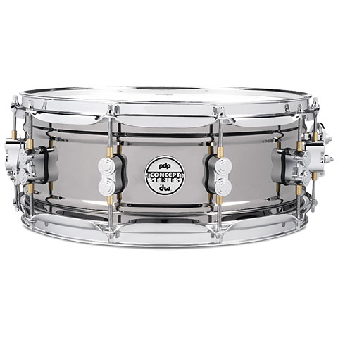 "pdp Concept 14"" x 5,5"" Black Nickel over Steel Snare"