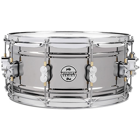 "Snare pdp Concept 14"" x 6,5"" Black Nickel over Steel Snare"